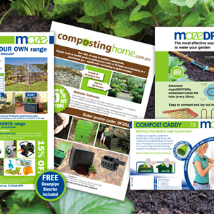 image of brochure design and branding for agricultural products
