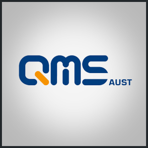Image of QMS logo design for billboard company