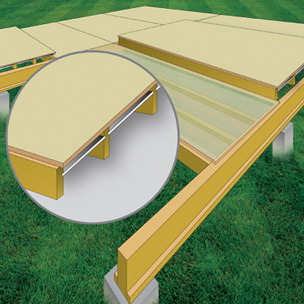 Illustration of Timber Flooring