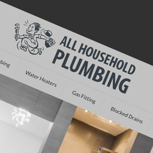 image of Plumbing website design