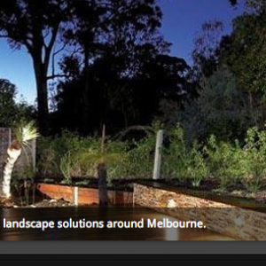 image of a landscape designer website design