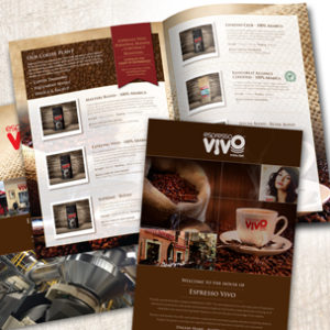 Coffee Roaster Brochure and Branding