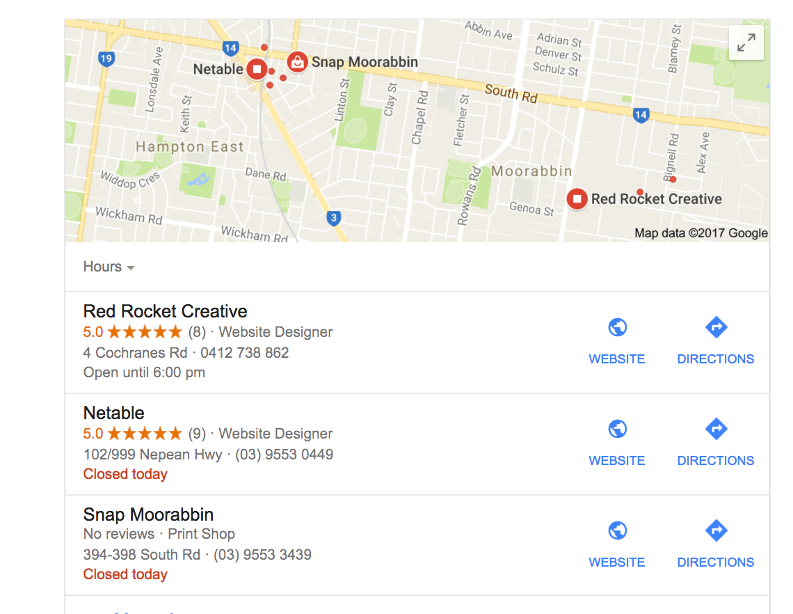 Web Design Moorabbin Melbourne