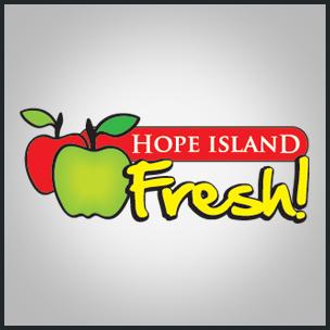 Hope Island Fresh – Food Industry Logo