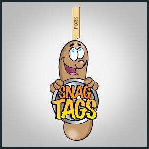Snag Tags – Cartoon Drawing
