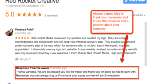 Red Rocket Creative Google Reviews